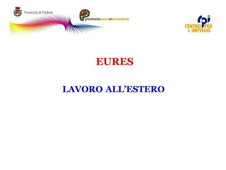 EURES LAVORO ALL'ESTERO 5
