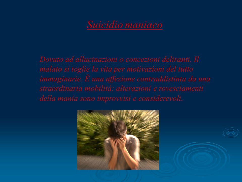 Suicidio maniaco
