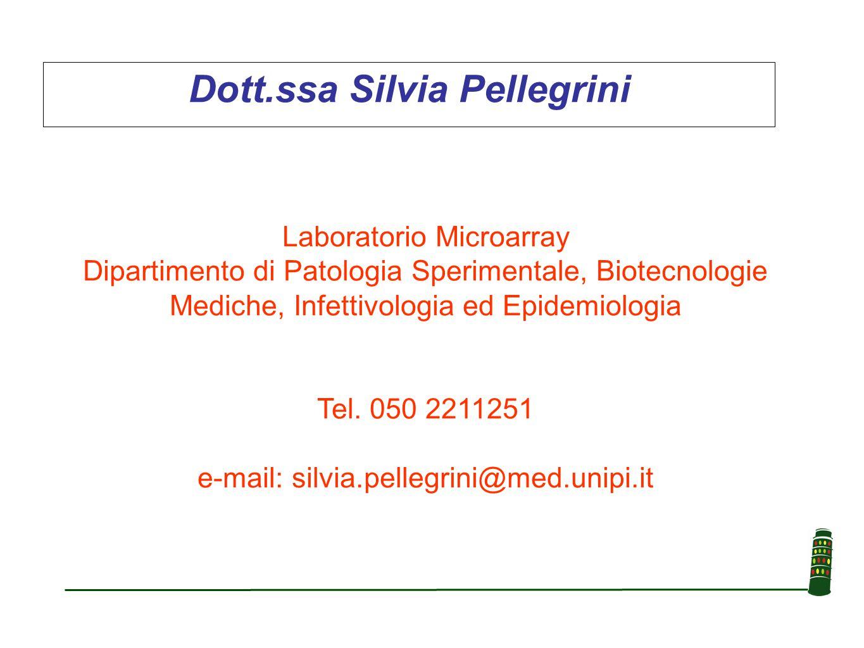 Dott.ssa Silvia Pellegrini