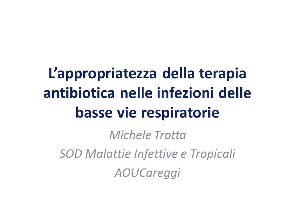 Michele Trotta SOD Malattie Infettive e Tropicali AOUCareggi