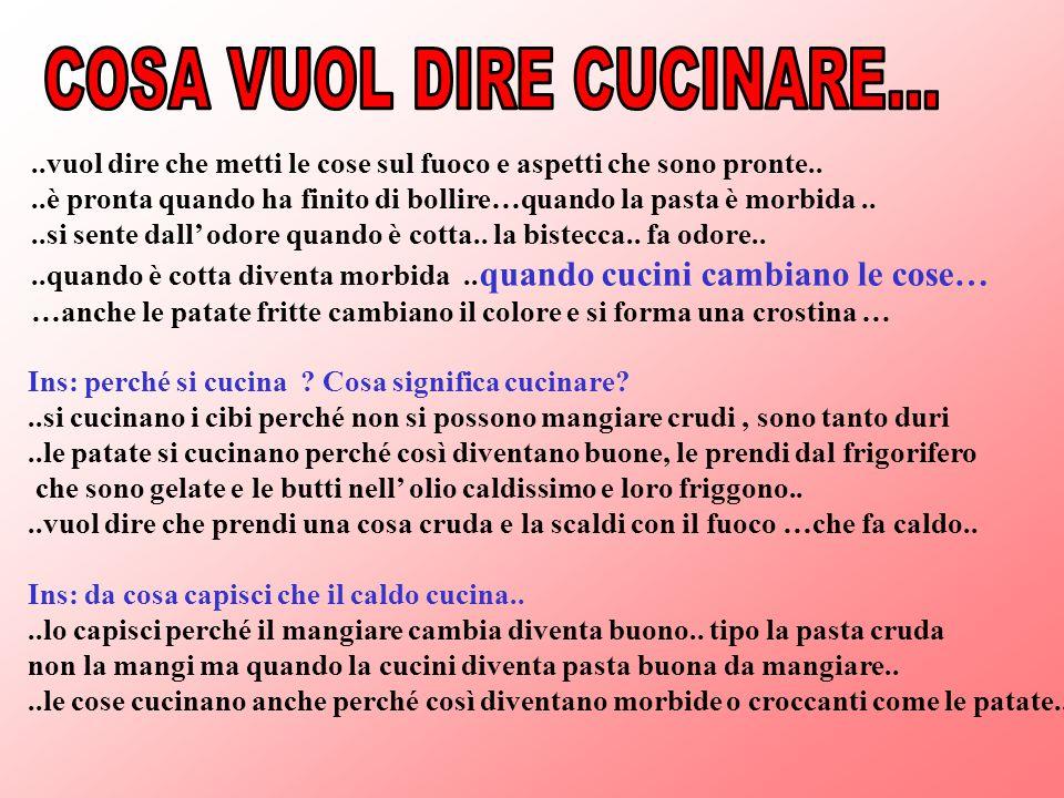 Aria acqua briciole e cotture sc dell infanzia 1 for Marchi di pasta da non mangiare
