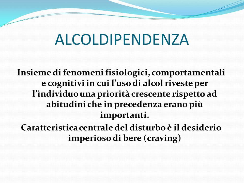 ALCOLDIPENDENZA