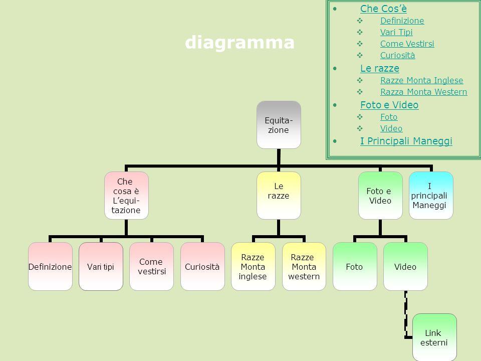 diagramma Che Cos'è Le razze Foto e Video I Principali Maneggi