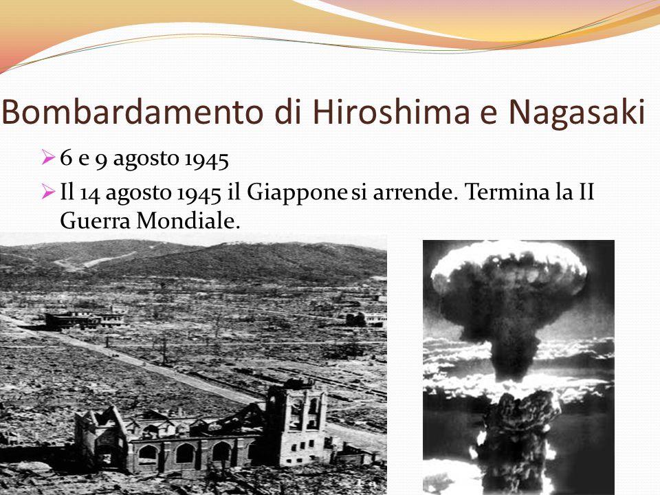 Bombardamento di Hiroshima e Nagasaki