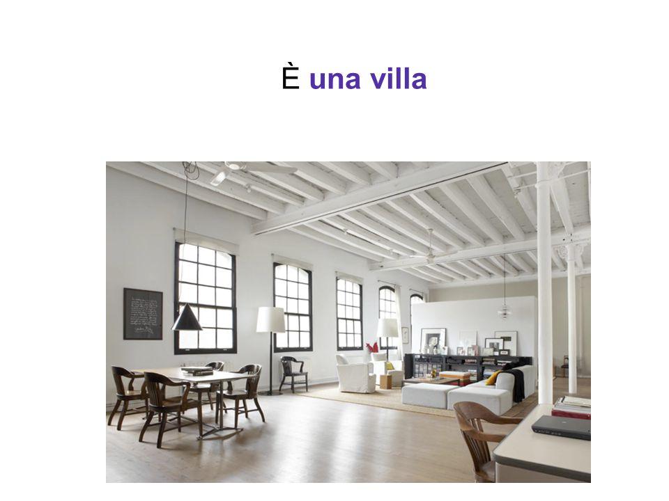 È una villa