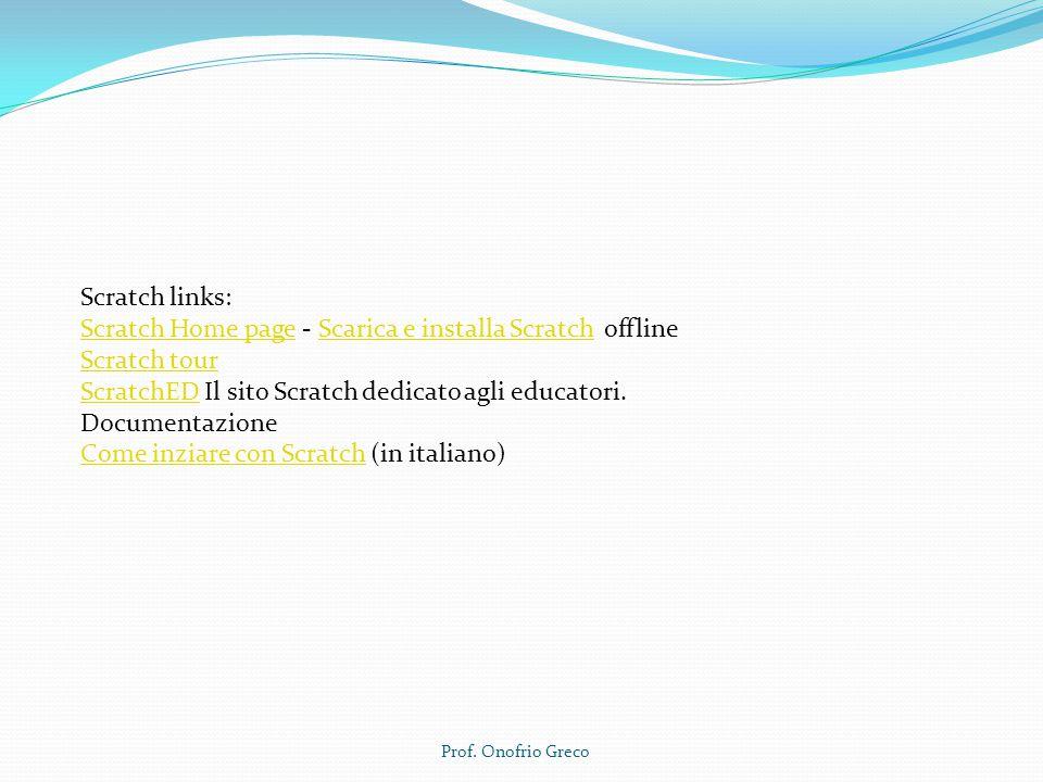 Scratch Home page - Scarica e installa Scratch offline Scratch tour