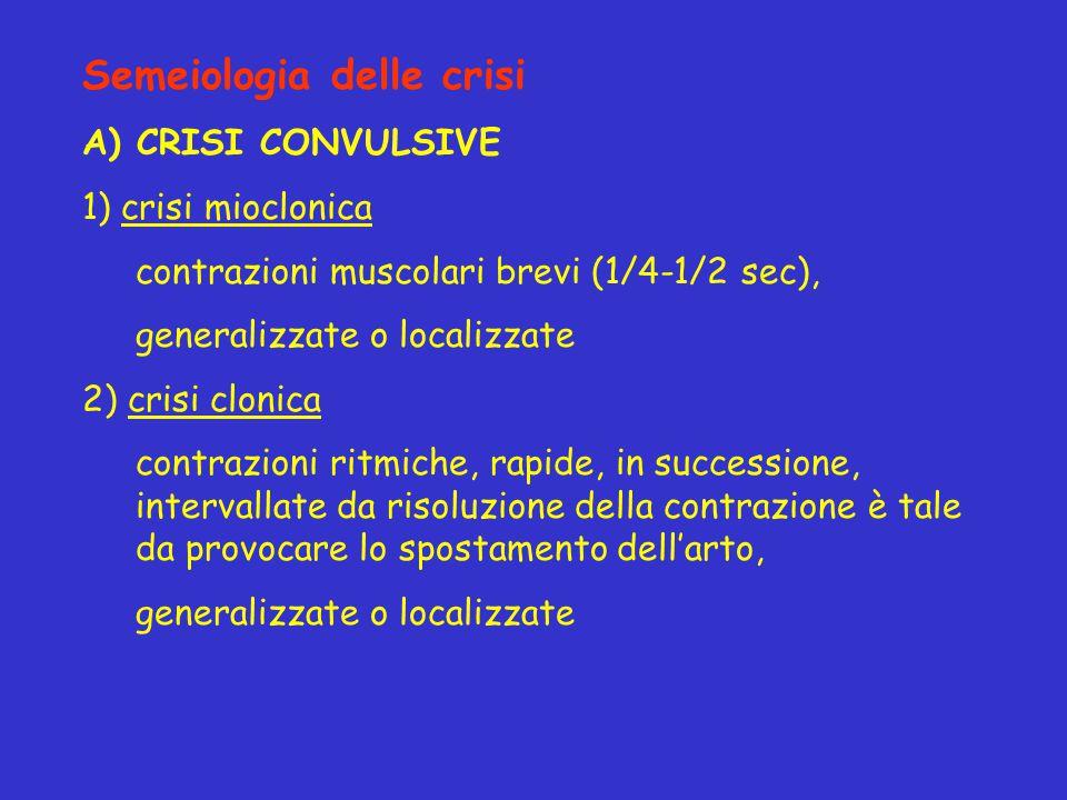 Semeiologia delle crisi