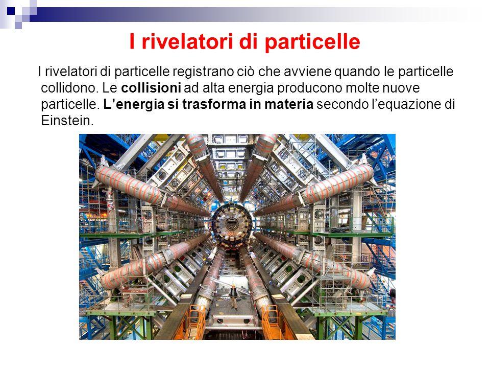 I rivelatori di particelle