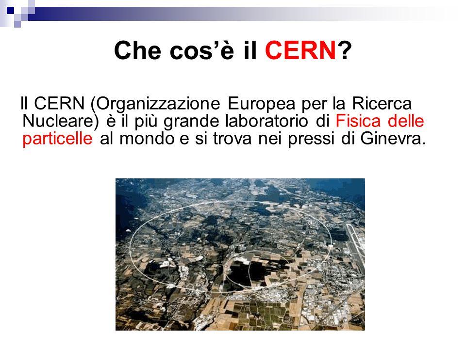 Che cos'è il CERN