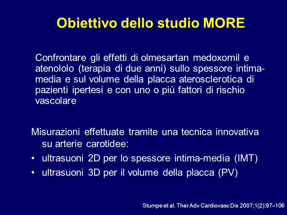 Obiettivo dello studio MORE