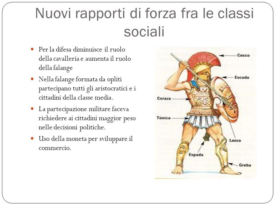 Nuovi rapporti di forza fra le classi sociali