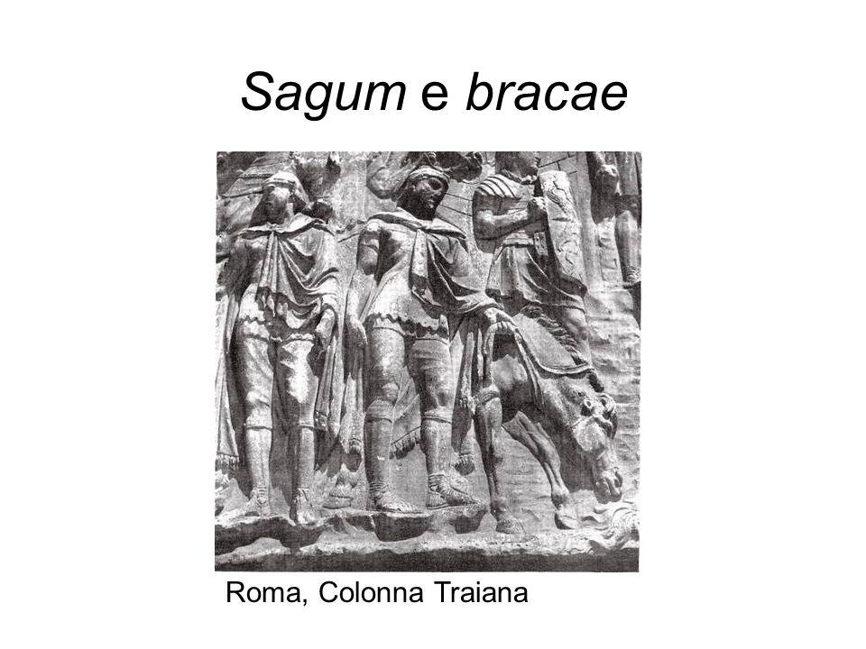 Sagum e bracae Roma, Colonna Traiana