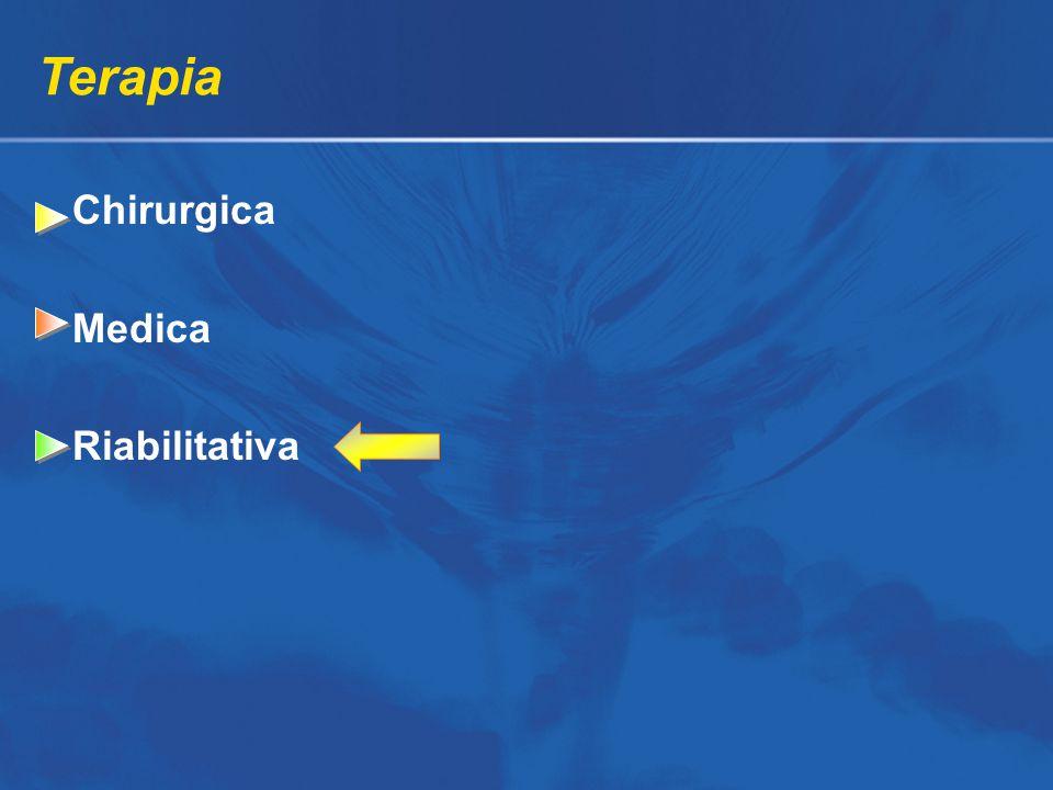 Terapia Chirurgica Medica Riabilitativa