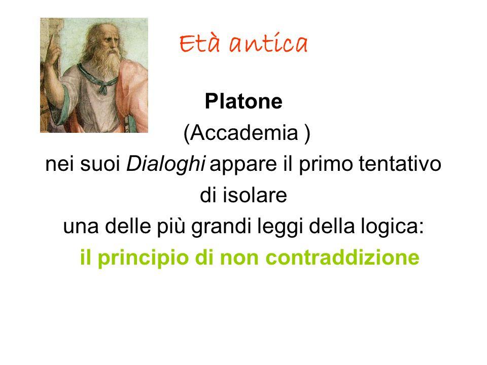 Età antica Platone (Accademia )