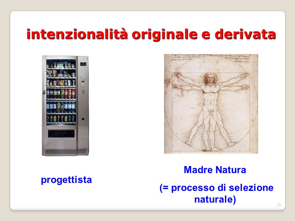 intenzionalità originale e derivata