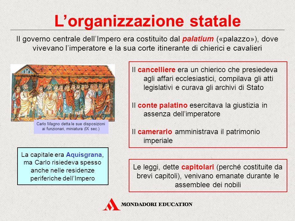 L'organizzazione statale