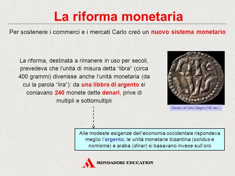 Denaro di Carlo Magno (VIII sec.)