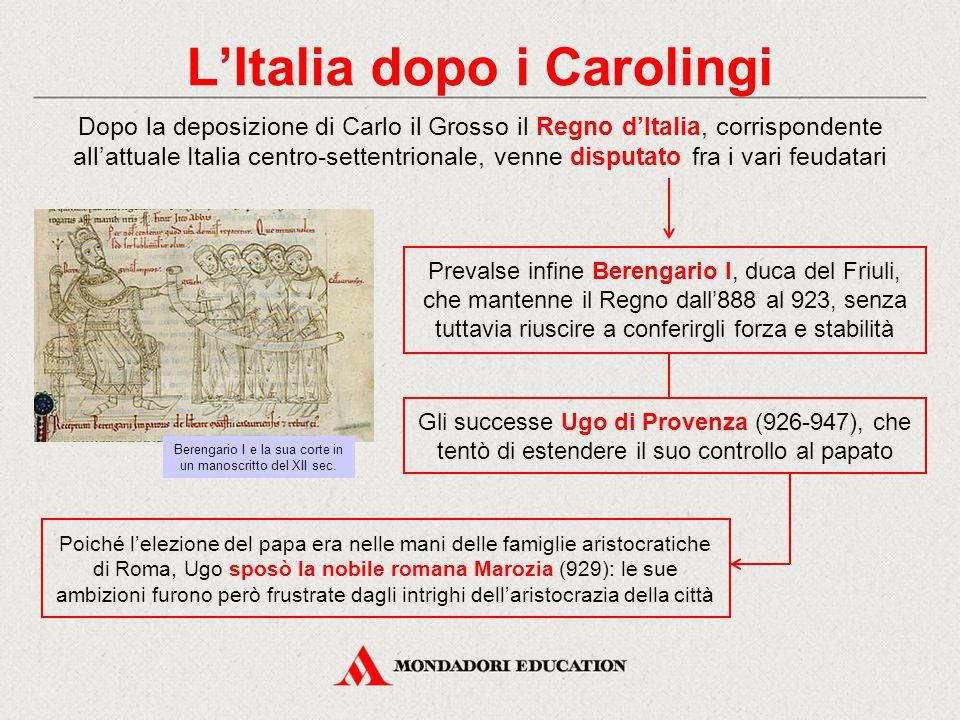 L'Italia dopo i Carolingi