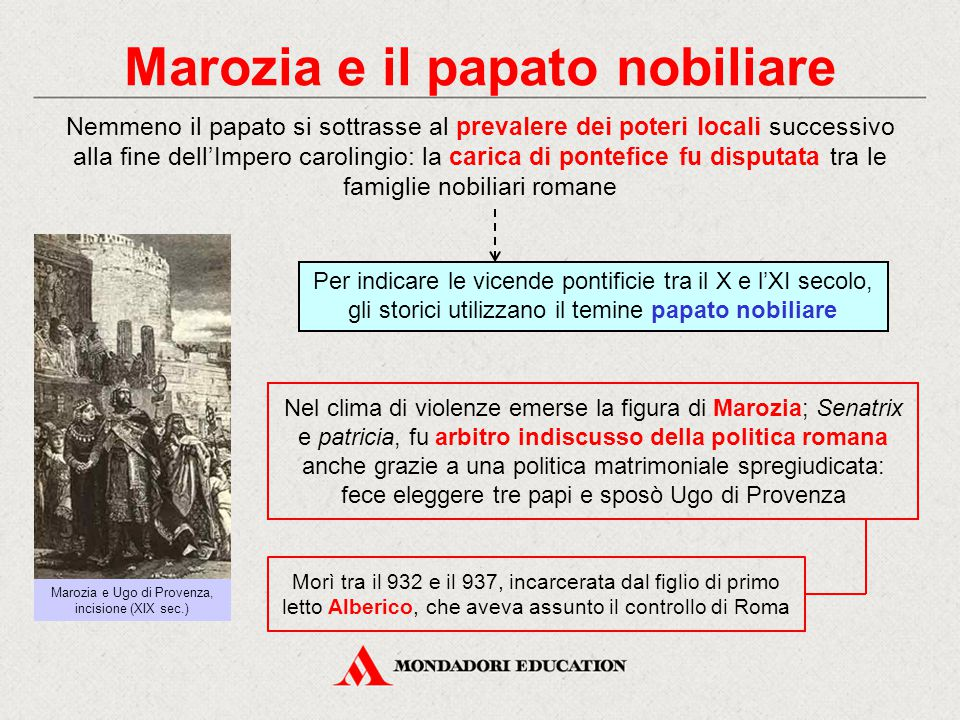 Marozia e il papato nobiliare