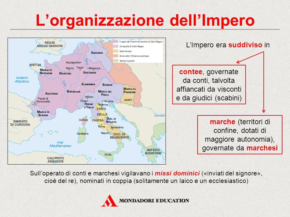L'organizzazione dell'Impero