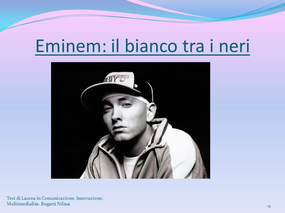 Eminem: il bianco tra i neri