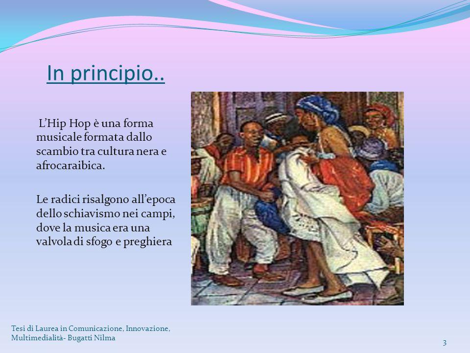 In principio.. L'Hip Hop è una forma musicale formata dallo scambio tra cultura nera e afrocaraibica.