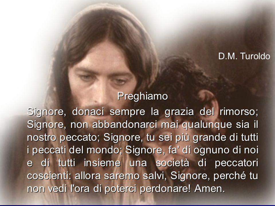 D.M. Turoldo Preghiamo.