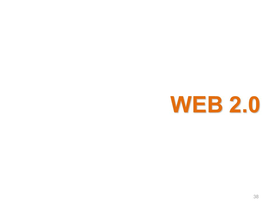 WEB 2.0 38 38