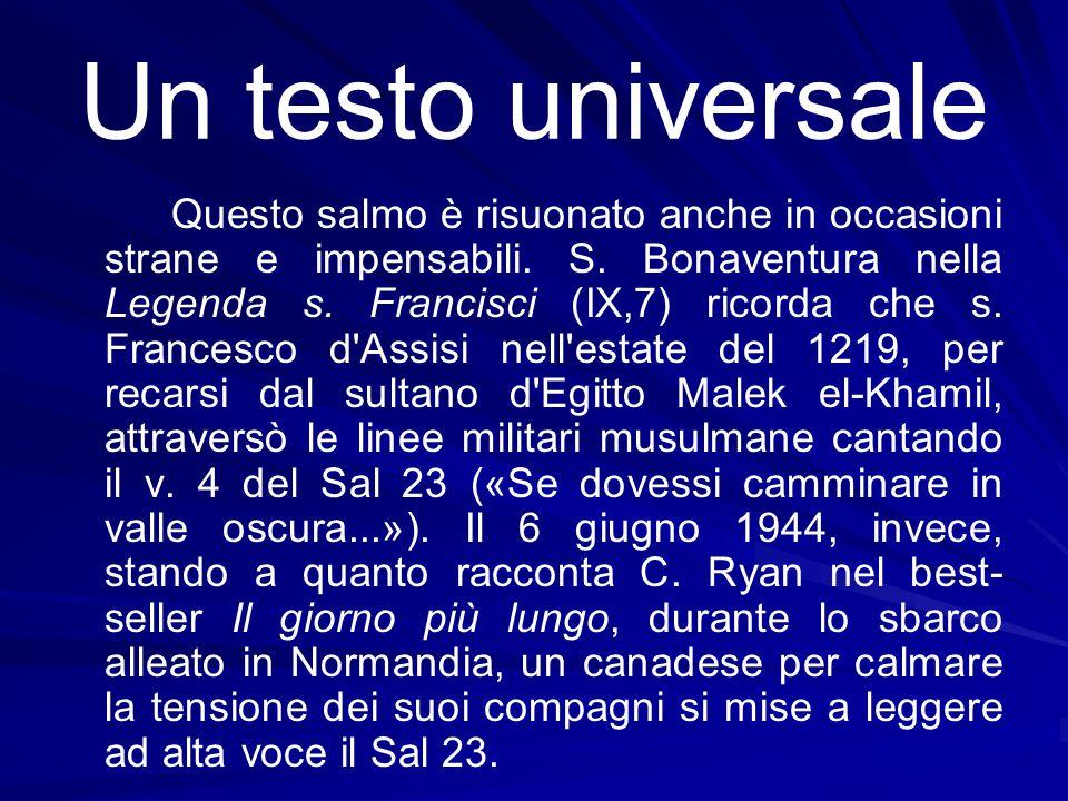 Un testo universale