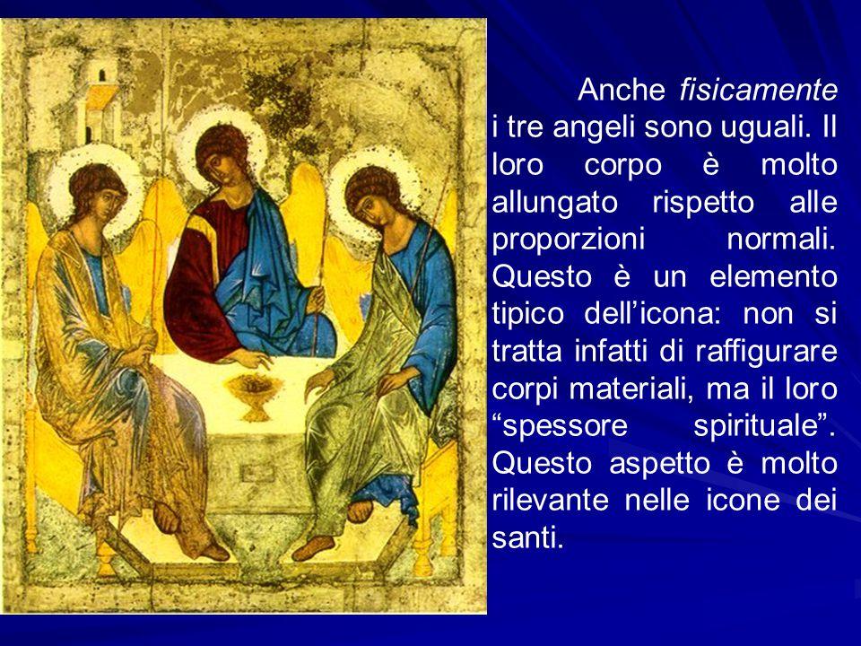 Anche fisicamente i tre angeli sono uguali