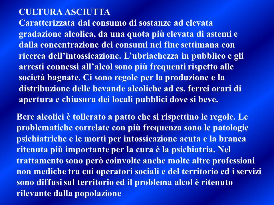 CULTURA ASCIUTTA
