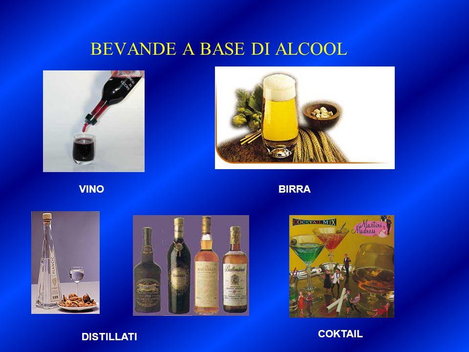 BEVANDE A BASE DI ALCOOL