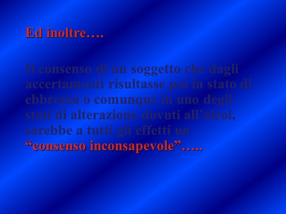 consenso inconsapevole …..