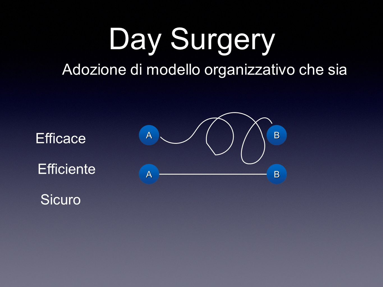 Day Surgery Adozione di modello organizzativo che sia Efficace
