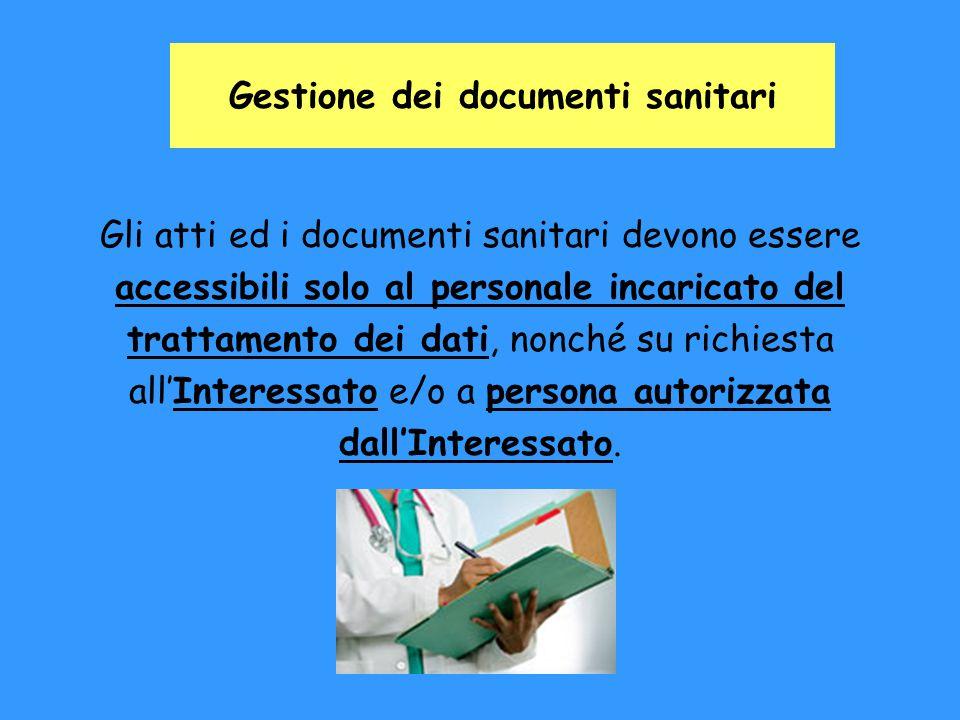 Gestione dei documenti sanitari