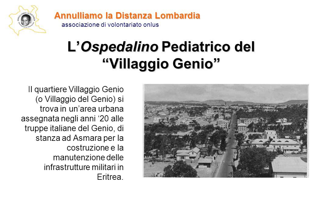 L'Ospedalino Pediatrico del Villaggio Genio