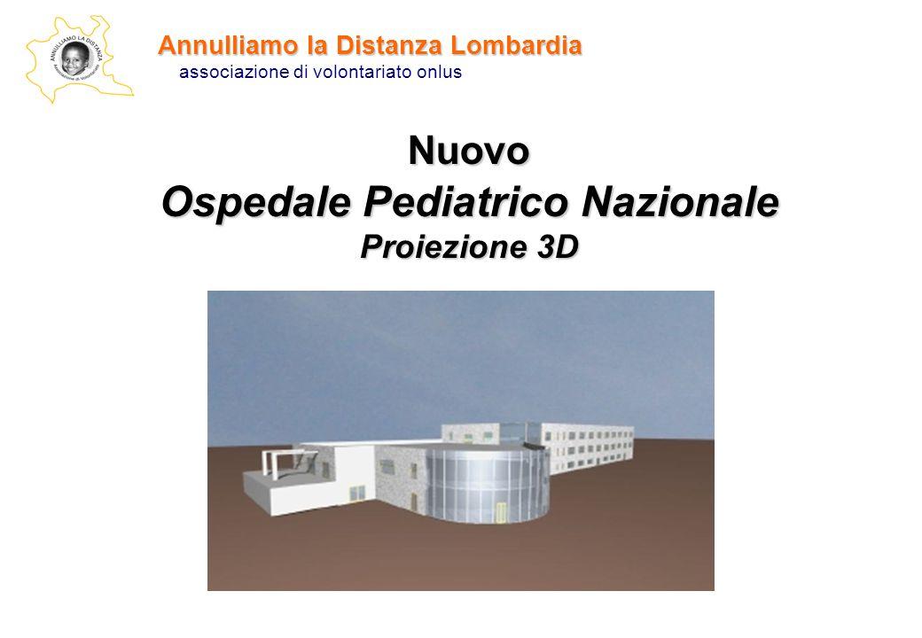 Nuovo Ospedale Pediatrico Nazionale Proiezione 3D