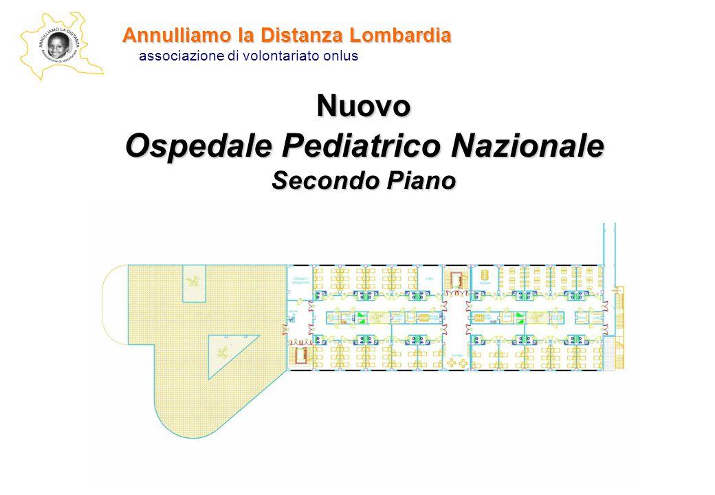 Nuovo Ospedale Pediatrico Nazionale Secondo Piano