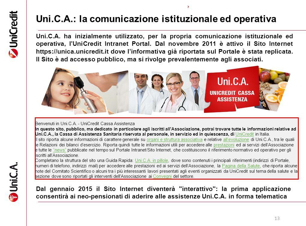 Uni.C.A.: la comunicazione istituzionale ed operativa