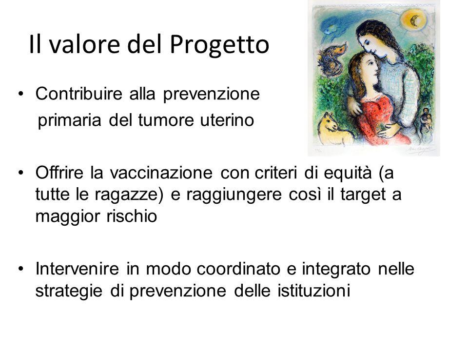 Il valore del Progetto Contribuire alla prevenzione