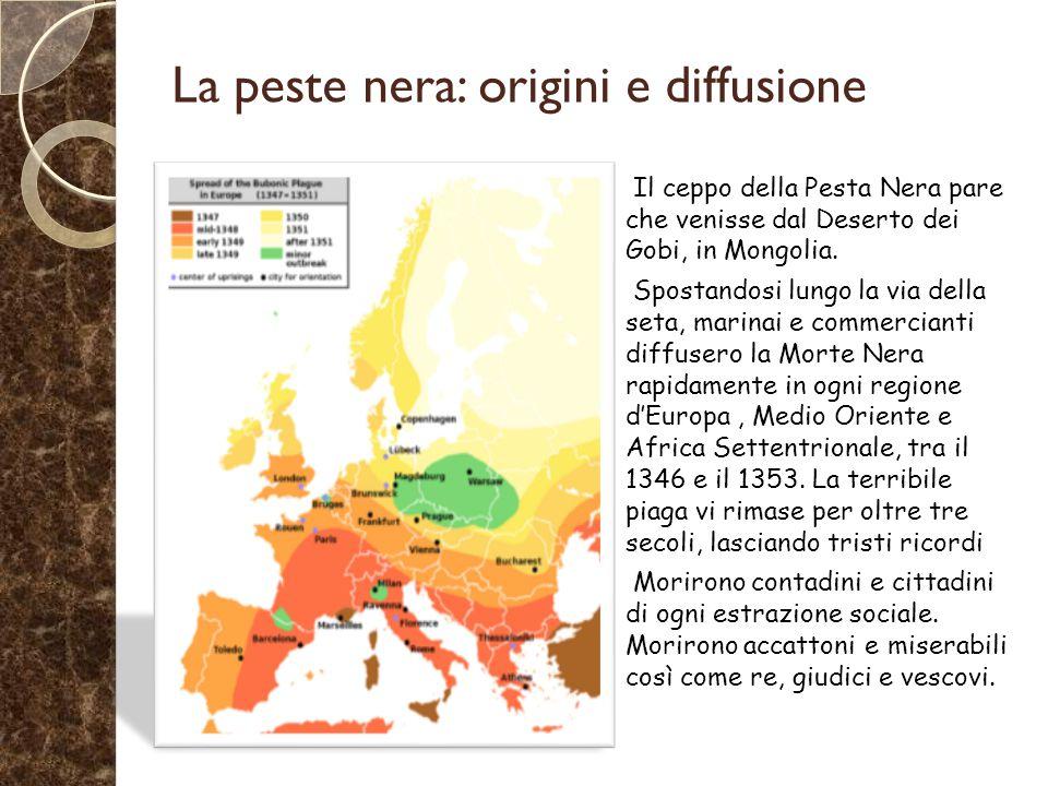 La peste nera: origini e diffusione