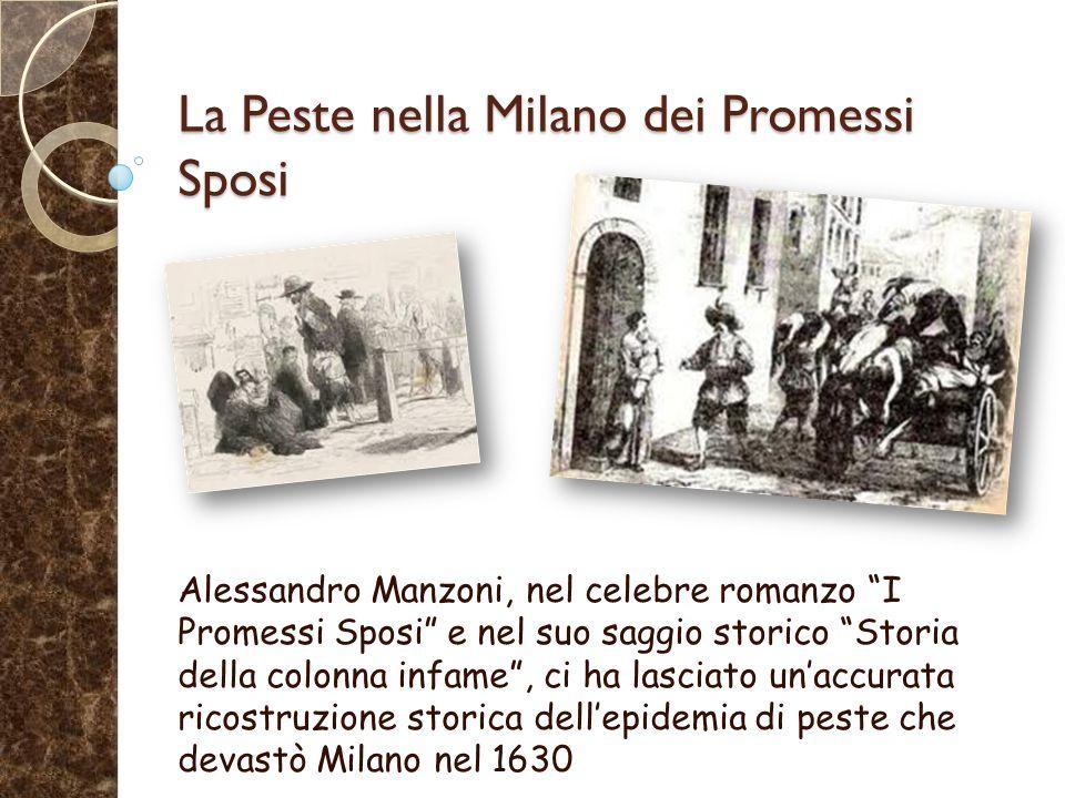 La Peste nella Milano dei Promessi Sposi