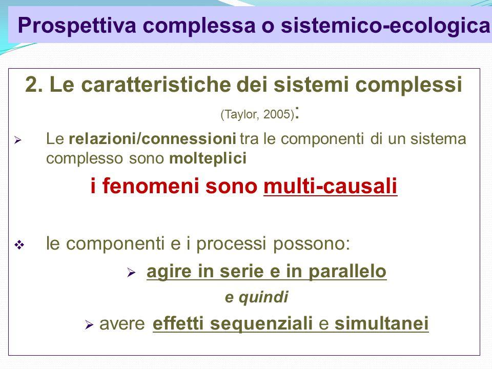 Prospettiva complessa o sistemico-ecologica