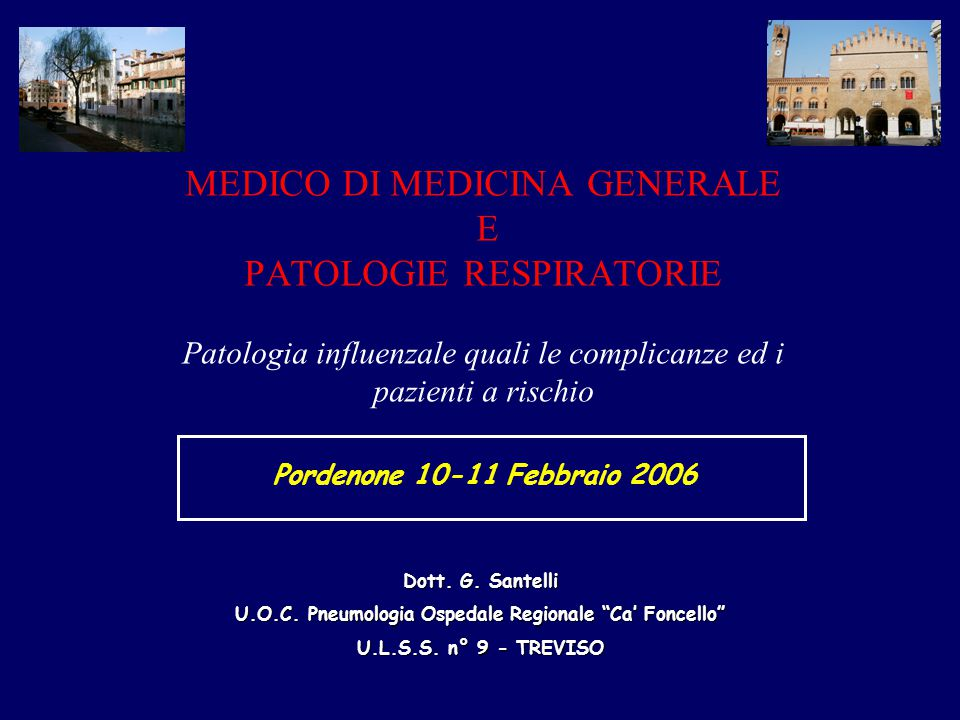 U.O.C. Pneumologia Ospedale Regionale Ca' Foncello