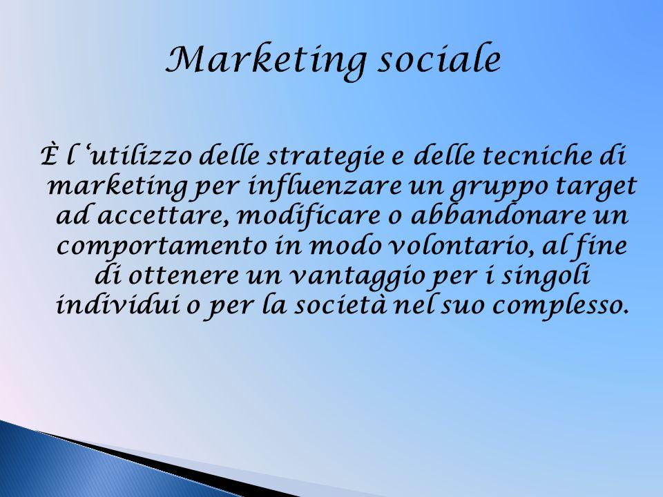 Marketing sociale