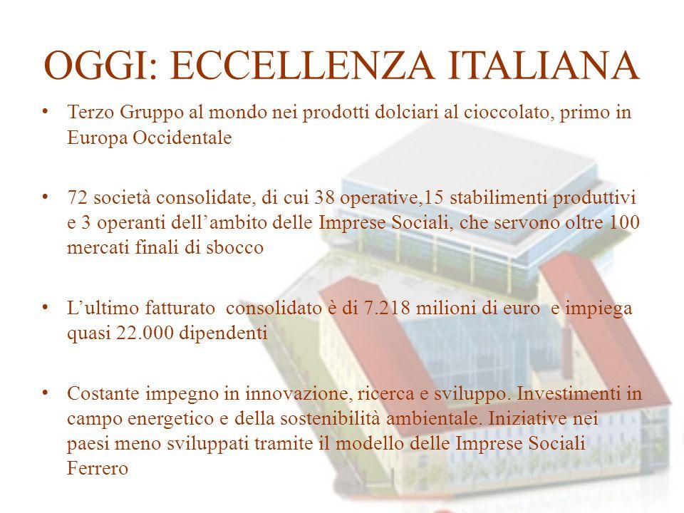 OGGI: ECCELLENZA ITALIANA