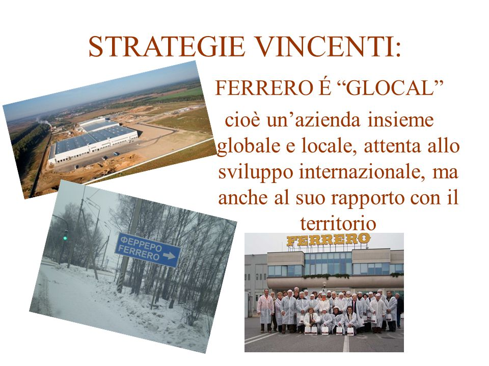 STRATEGIE VINCENTI: