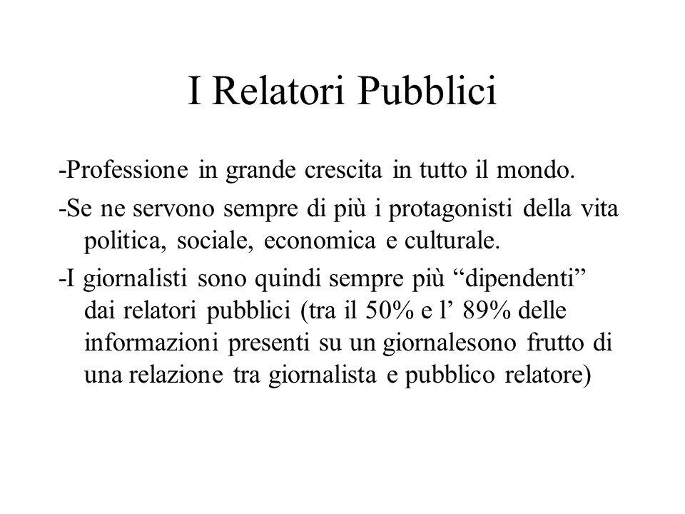 I Relatori Pubblici -Professione in grande crescita in tutto il mondo.