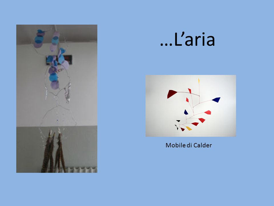 …L'aria Mobile di Calder