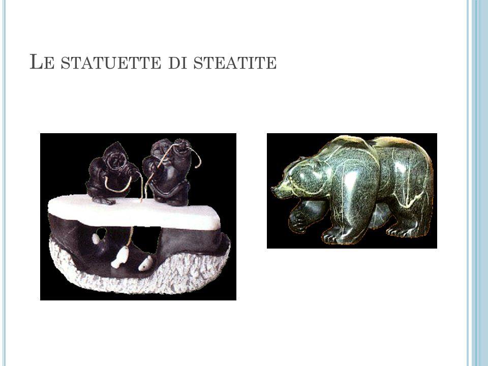 Le statuette di steatite